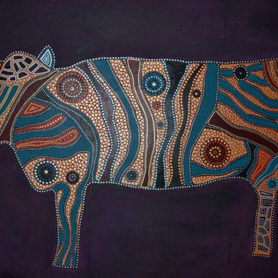 cow II  100 x 140 cm