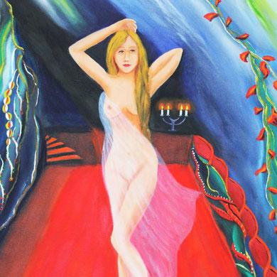 Die Tänzerin 60 x 80 cm. Öl auf Leinwand
