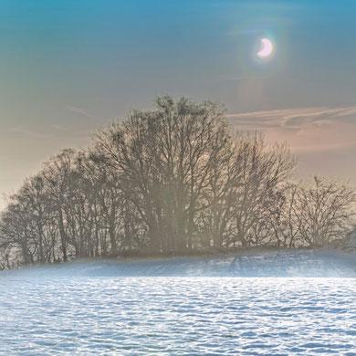 Sonnenfinsternis am Niederrhein