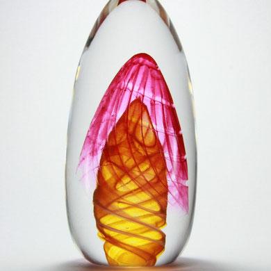 Briefbeschwerer, Höhe 16,5 cm, Durchmesser 8 cm