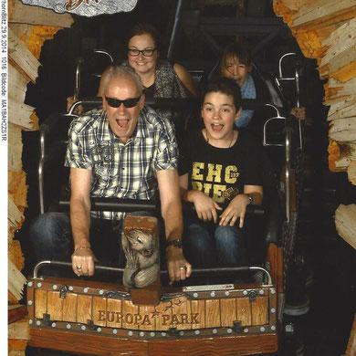 An meinem Geburtstag kommt Papi mit mir auf den Matterhorn Blitz.