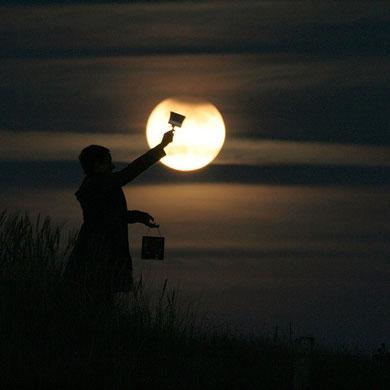 Pintando la Luna