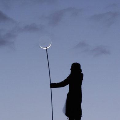 Pinchando la Luna