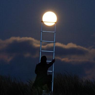 Subiendo a la Luna