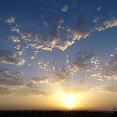 gerade diese leichte und luftig anmutende Wolkenformation macht den Anblick so einzigartig und fesselnd für mich