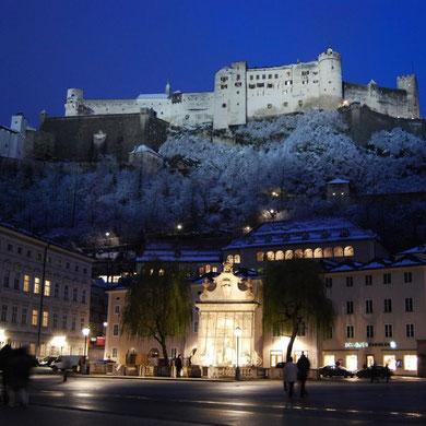 Salzburg ist auch im Winter einen Besuch wert.