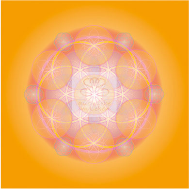 "Lebendiges Mandala, CL ""Hingabe"" © Susanne Barth (hier mit Kopierschutz)"