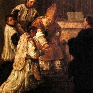 Ingresa al sacerdocio