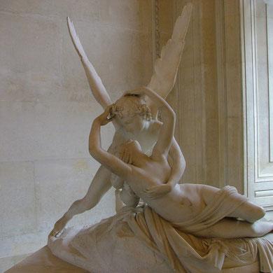 Eros y Psique. Antonio Canova 1757-1822. Museo del Louvre.