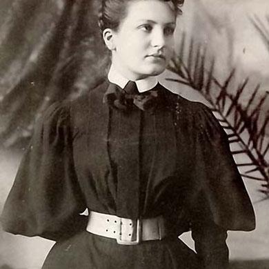 Alma Schindler.