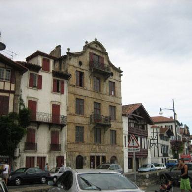 Casa natal de Maurice Ravel en Ciboure.