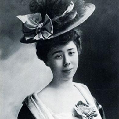 Marguerite Long (1874-1966). Estreno la versión para piano de La tumba de Couperin el 11 de abril de 1919.