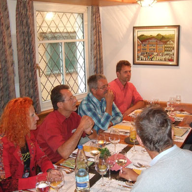 Nachtessen in Appenzell