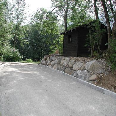Sanierung Holderbodenstrasse beim Föhnen