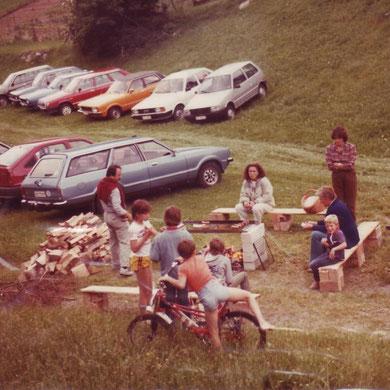 1985 Jubifest Grillplatz