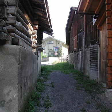 Landesfussweg im Dörfli