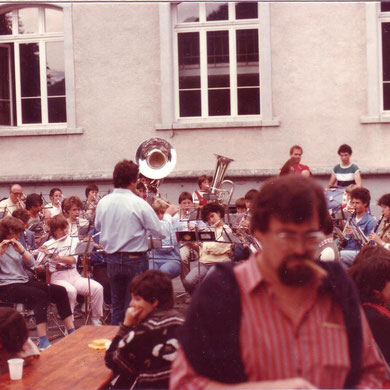 1985 Junifest Auftritt Jugendmusik