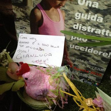 Pasqua 2013, Gianluca, immancabile.