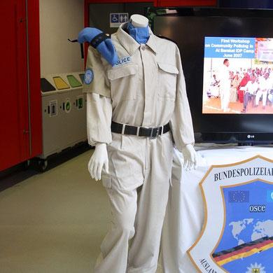 eine Uniform für den Auslandseinsatz