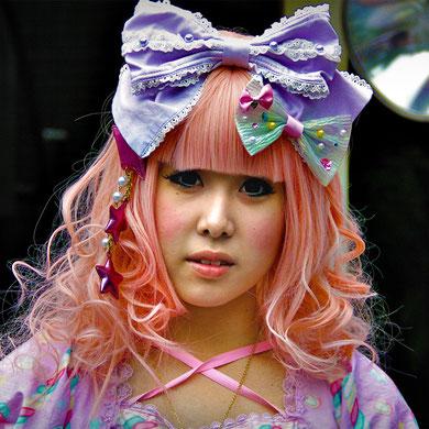 Pink Princess. Harajuku Street Fashion, Tokyo. Japan 2013 © Sabrina Iovino | JustOneWayTicket.com