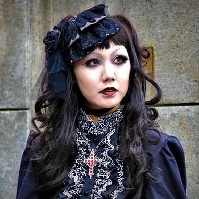 Gothic Lady, Harajuku Street Fashion, Tokyo. Japan 2013 © Sabrina Iovino | JustOneWayTicket.com