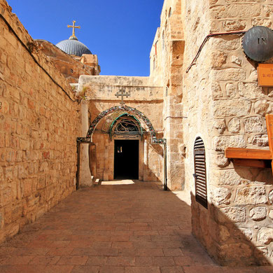 getting lost in the Old City of Jerusalem, Israel © Sabrina Iovino | JustOneWayTicket.com