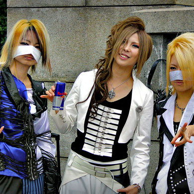 Cosplay Girls... or Guys? Harajuku Street Fashion, Tokyo. Japan 2013 © Sabrina Iovino   JustOneWayTicket.com