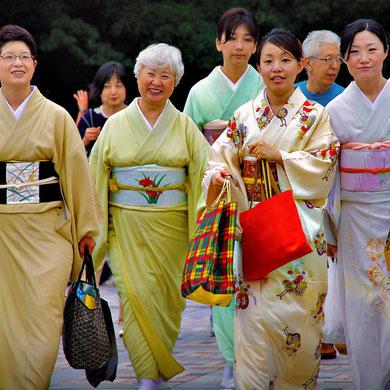 Traditional Kimonos, Yoyogi Park Harajuku, Tokyo. Japan 2013 © Sabrina Iovino | JustOneWayTicket.com