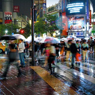 The world famous pedestrian crossing in Shibuya, Tokyo. Japan 2013 © Sabrina Iovino   JustOneWayTicket.com