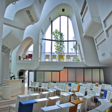 Even the churches have style! Protestant Church in Harajuku, Tokyo, Japan 2013 © Sabrina Iovino | JustOneWayTicket.com