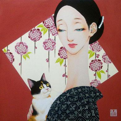 avec le chat 桜