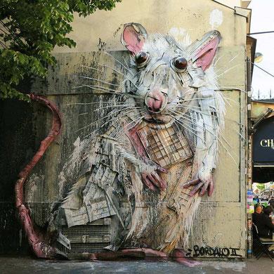 street-art-déchet-denonciation-écologie-bordalo2-mouse-souris