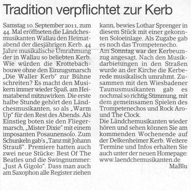 Erbenheimer Anzeiger 16.09.2011