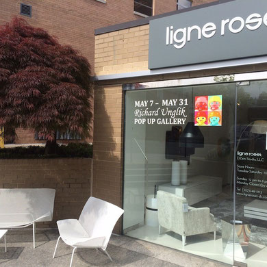 Ligne Roset DC exhibition