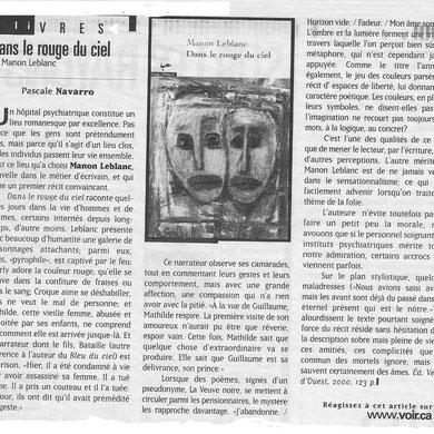 Pascale Navarro dans le journal Voir