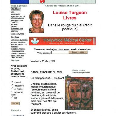 Louise Turgeon dans Planète Québec