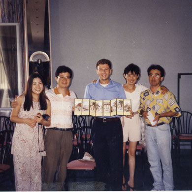 vito liuzzi and korean students