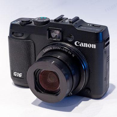Canon G16, 12,1MP CMOS