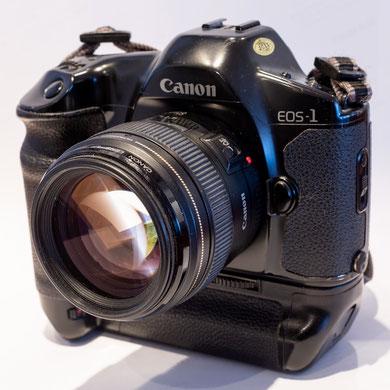 Canon EOS1, Kleinbild, 24x36