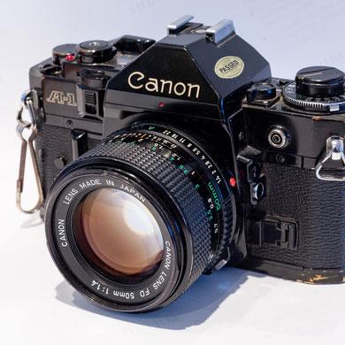 Canon A1, Kleinbild, 24x36