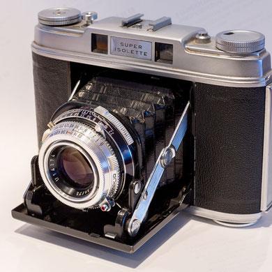 Agfa Super Isolette, Rollfilm 120, 6x6