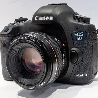 Canon 5D Mark III, 22,3 MP-Vollformat-CMOS