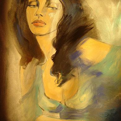 Sophia 60#80cm Acryl / Detail
