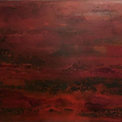 Emotion, Acryl mixed media, 2016, 90x70x2