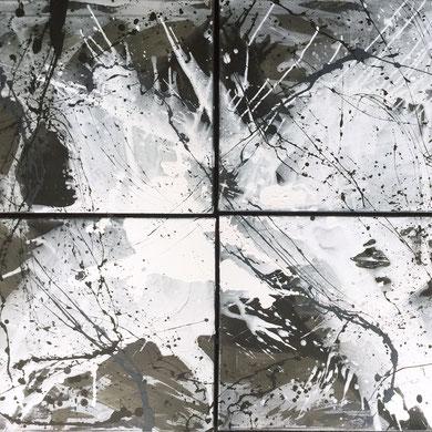 Chaos, Acryl, 2015, 120x100x2