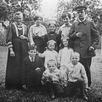 Familie Kieninger 1912