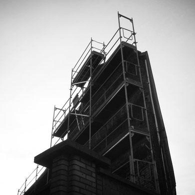 Echafaudages de façade