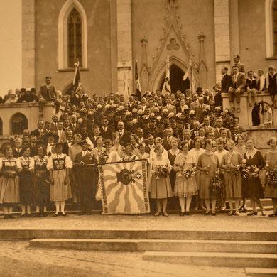 Historische Aufnahme um 1930