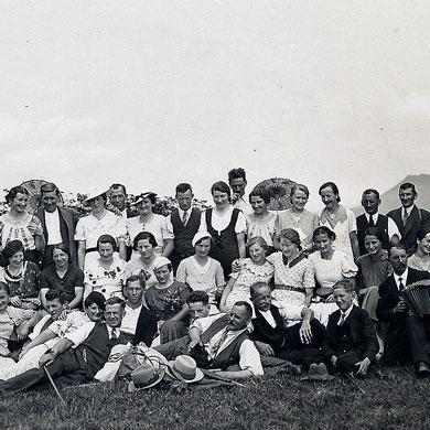 Ausflug Bürgenstock 1936