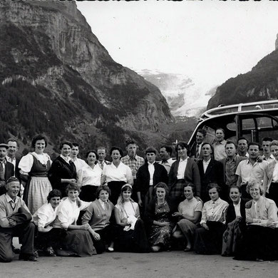Ausflug Grindelwald 1957